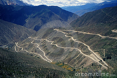 The Sichuan-Tibet Highway