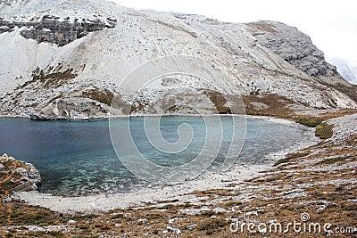 Sichuan-Tibet plateau lake