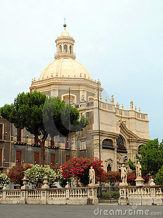 Sicilian baroque church