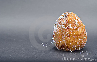 Sicilian rotisserie - Arancina with chocolat