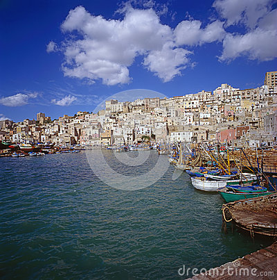 Free Sicilian Village Stock Photography - 45276062