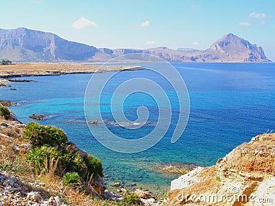 Sicily coastline (Italy)