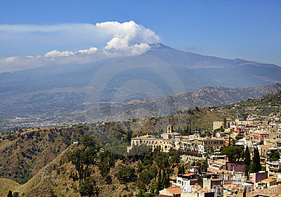 Sicily, Italy, with Etna