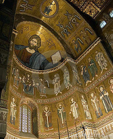 Free Sicily Monreale Cathedral  Stock Images - 4094254