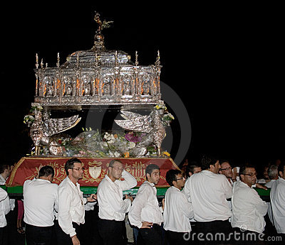 Sicily-Noto-Feast of San Corrado Editorial Photo