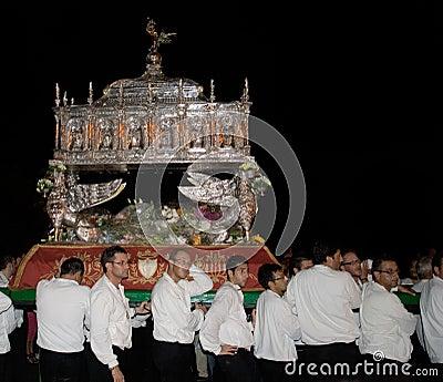 Sicily-Noto-Feast of San Corrado Editorial Photo