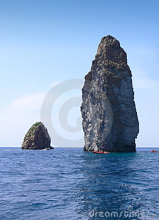 Sicily Sea Rocks