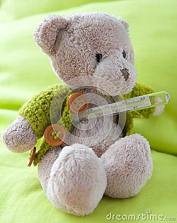 A sick  bear