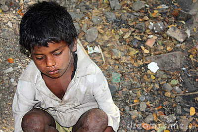 Sick Beggar Boy