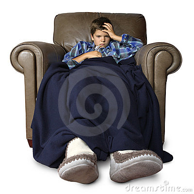 Sick in the big chair