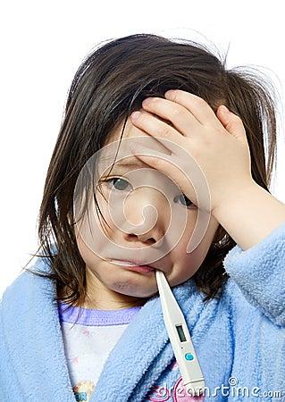 Free Sick Child Stock Photos - 8237343