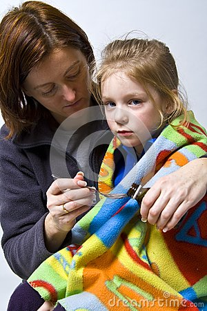 Sick little girle
