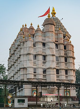 Free Siddhivinayak Temple At Mumbai Close View From Out Side. Royalty Free Stock Image - 112595906