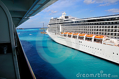 Side of a Cruise Liner