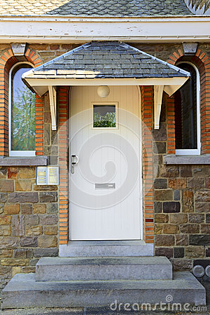 Side Entrance Stock Photography - Image: 25419602