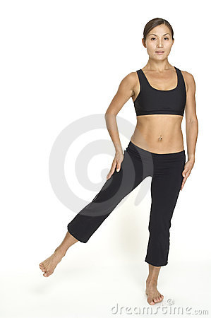 Free Side Leg Raise 2 Stock Image - 120661