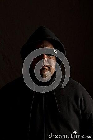Side-lit Man Hood