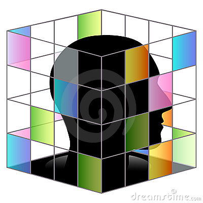 In side square cube