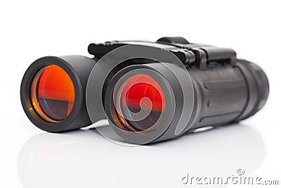 Side view of a binoculars
