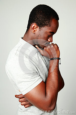 Free Side View Portrait Of A Pensive African Man Royalty Free Stock Photo - 41612475
