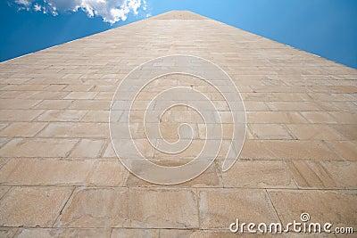 Side Washington Monument Sandstone United States