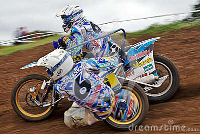 Sidecar MX corner blur Editorial Photo