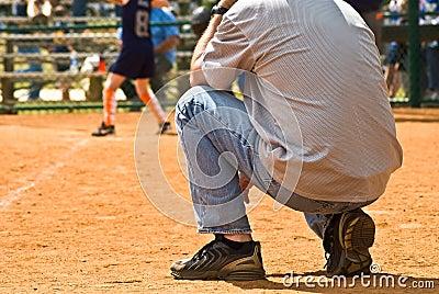 Sideline Coach/Girls Softball