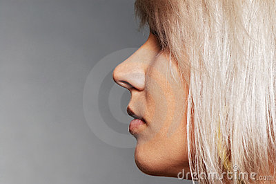 Sideview of nice blond
