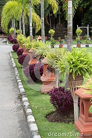 Sidewalk in Chiang Mai; Thailand