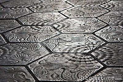 Sidewalk stones - Barcelona