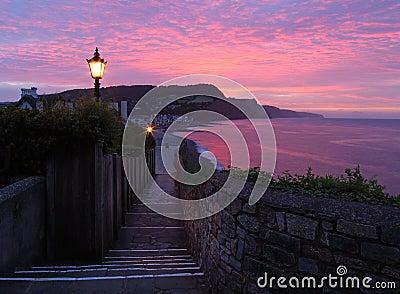 Sidmouth sunset