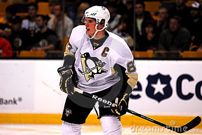 Sidney Crosby Pittsburgh Penguins Editorial Image