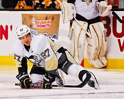 Sidney Crosby Pittsburgh Penguins Editorial Stock Image