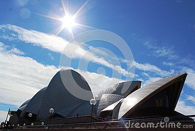 Sidney Opera House Editorial Stock Image