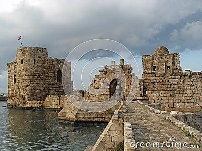 Sidon Sea Castle (Lebanon)