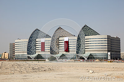Sidra Medical Research Centre in Doha Editorial Image