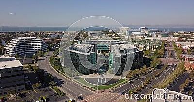 Siedziba główna stacji meczu san mateo california zjednoczone stany ameryki zdjęcie wideo