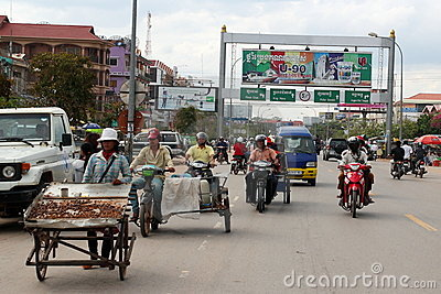 Siem Reap, Cambodia Editorial Image
