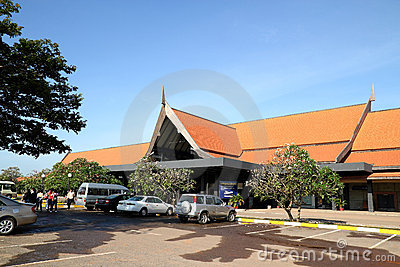 Siem Reap International Airport Editorial Photo
