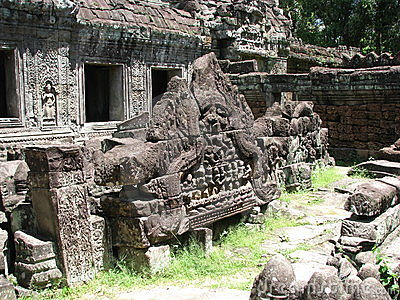 Siem Reap ruins