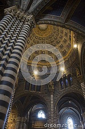 Free Siena Duomo Interior Royalty Free Stock Photography - 12473697