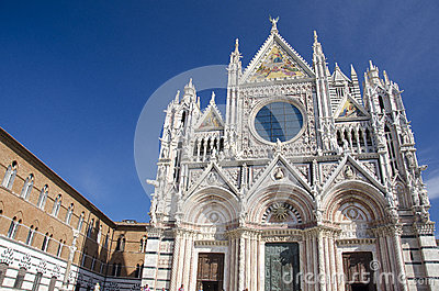 Siena Cathedral Editorial Stock Image