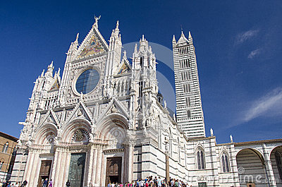 Siena Cathedral Editorial Image
