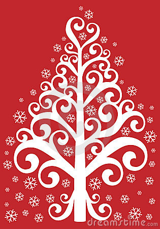 Sier Kerstmisboom
