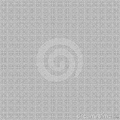 Sierpinski Space-filling Curve Fractal, 6th iter