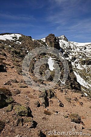Sierra de Bejar mountain range
