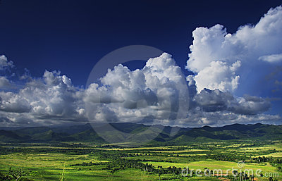 Sierra del Escambray, cuba