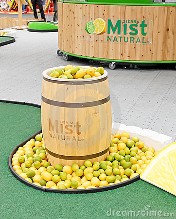 Sierra Mist Sponsor Event Editorial Photo