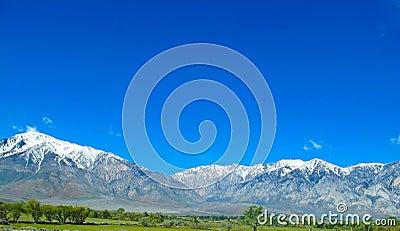 Sierra Nevada mountains in California