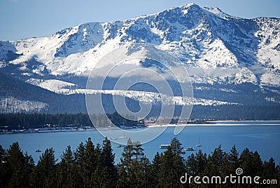 Sierras at Lake Tahoe